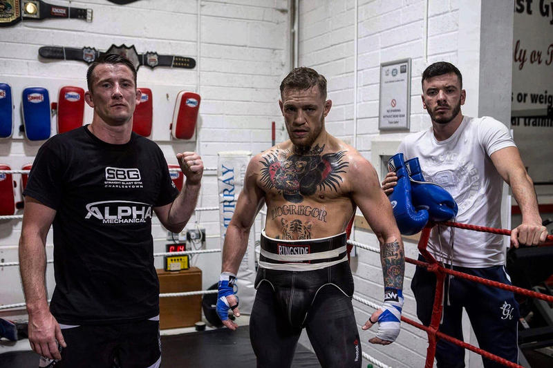 Conor McGregor UFC 229 Training Khabib Nurmagomedov Fight Las Vegas SBG Ireland Dublin Gym MMA