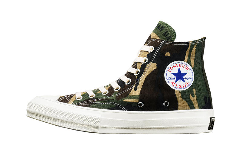 Converse Addict Holiday Season Human Made Collab N.HOOLYWOOD Mastermind Japan Chuck Taylor Camo