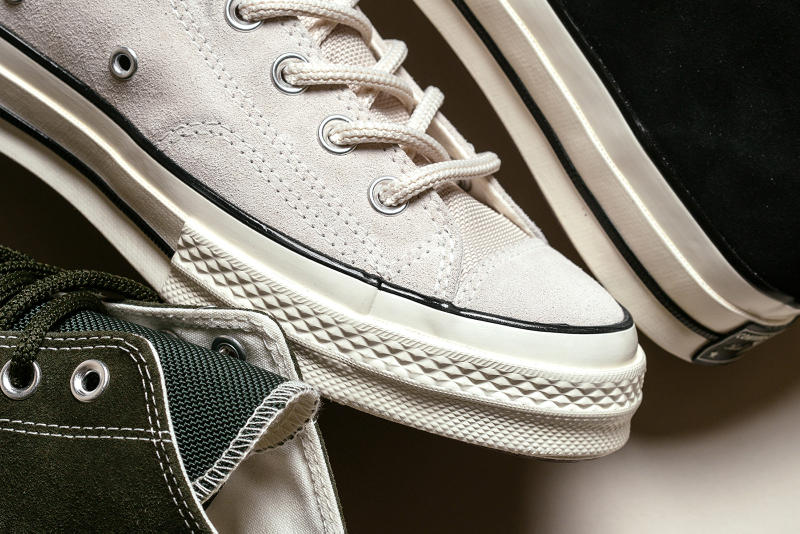 "Converse Chuck Taylor All Star 70 Hi ""Suede"" Pack release date utility green natural ivory black price september 2018"