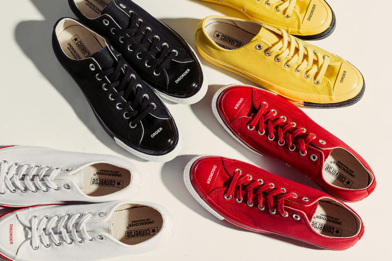 "Converse x Undercover ""Order and Disorder"" Collection Shoes Trainers Sneakers Kicks Footwear Cop Purchase Buy Collab Collaboration Feature Sneaker Boutique"