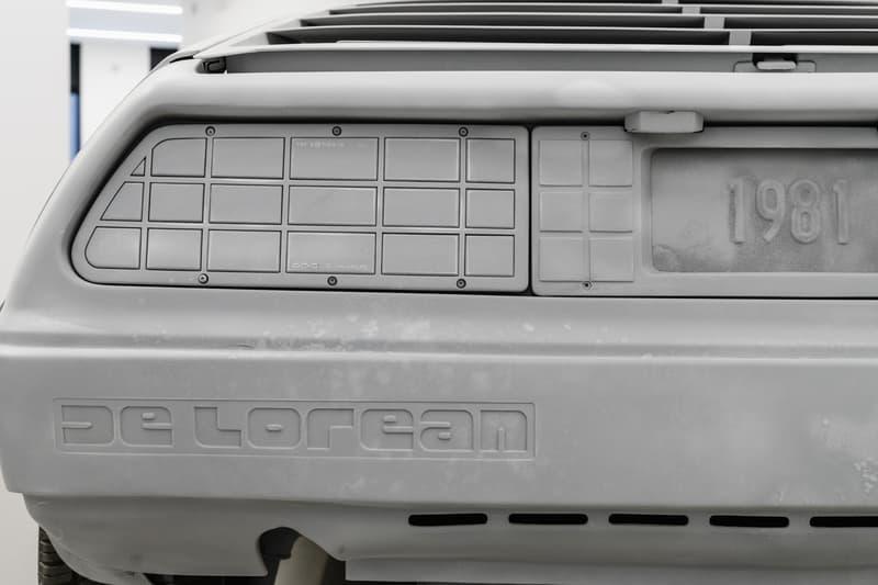 "Daniel Arsham ""3018"" Galerie Perrotin Exhibition Ferrari 250GT California Spyder"