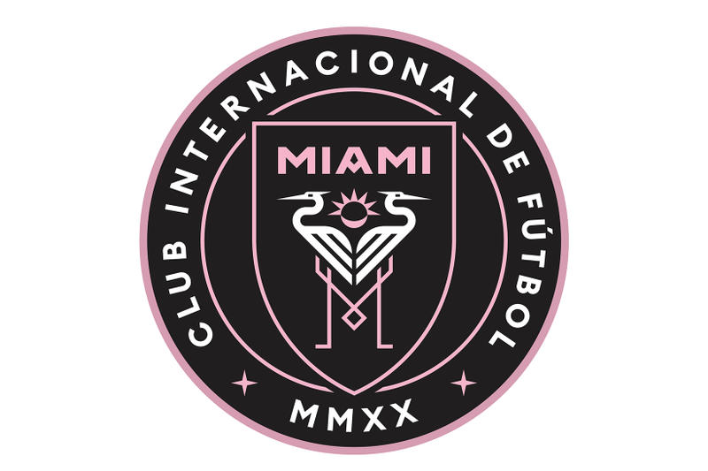 Miami David Beckham MLS Club Internacional de Fútbol Miami League Expansion Soccer Crest Football Crest Major League Soccer
