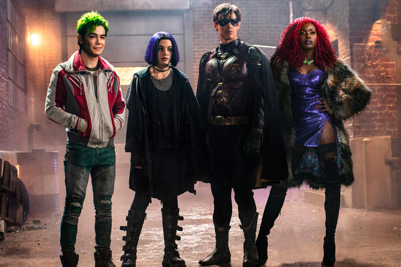 dc universe titans first look