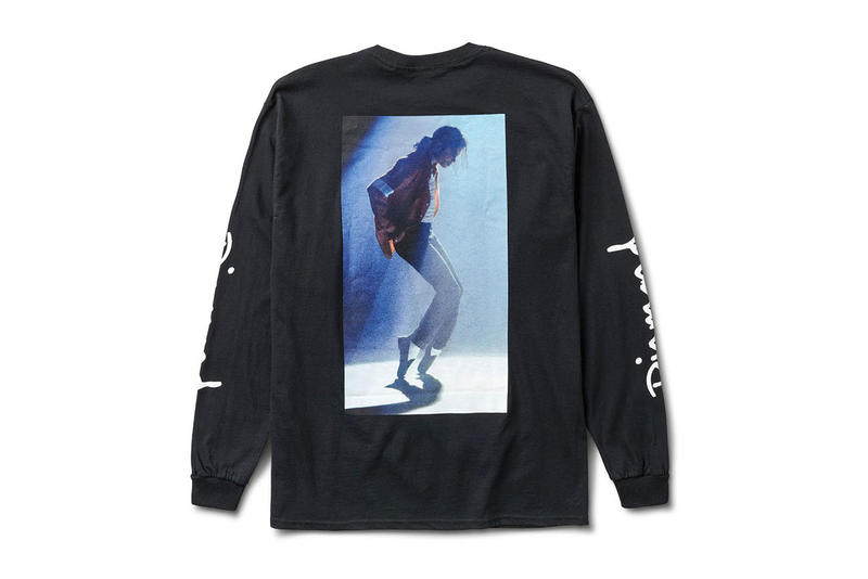 Diamond Supply Co. Michael Jackson King of Pop Collection capsule merch T-shirts hoodies skate deck hat track pants