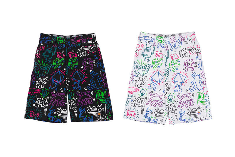 Keith Haring Dickies Japan Unisex Capsule release info collaborations hoodies jackets t-shirts accessories