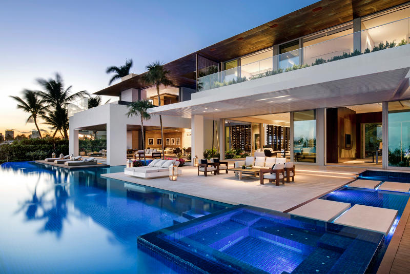 Dilido House by SAOTA in Miami United States of America Homes Houses Modern Interior Exterior Swimming Pool Architects Architecture
