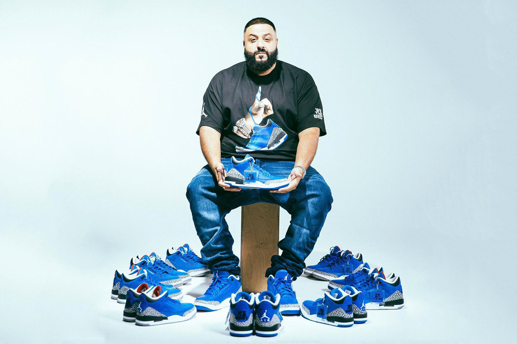 "d112a606d8a DJ Khaled Unveils Air Jordan 3 ""We the Best"" & ""Father of Asahd"" 