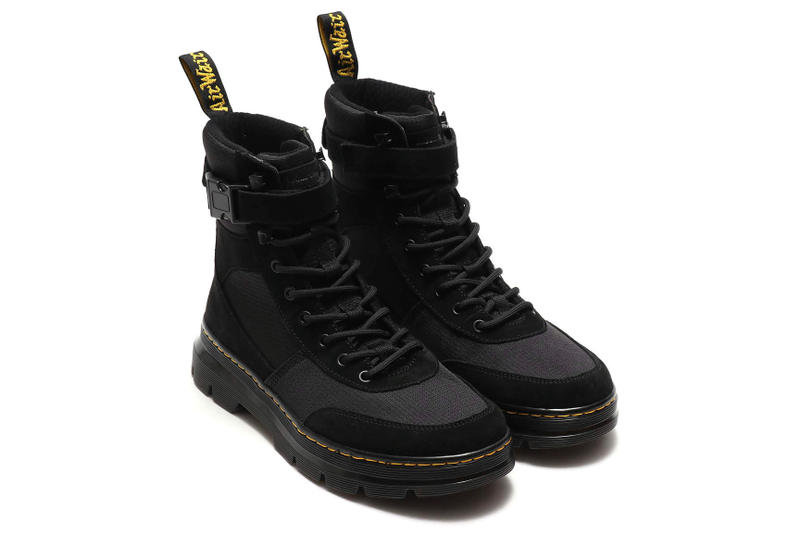 Dr. Martens atmos Lab Collaboration Details Shoes Sneakers Trainers Kicks Boots Footwear Cop Purchase Buy tract combs lumine est pink pop up shop limited exclusive 1 2 black green suede mesh