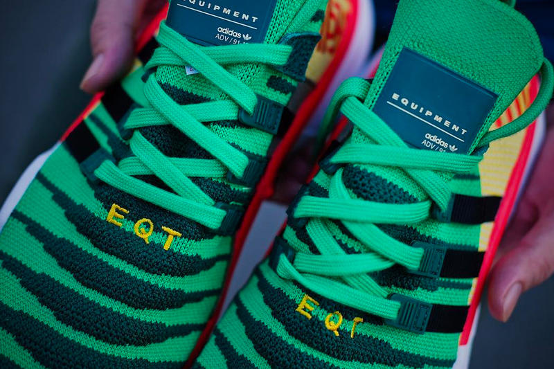 "'Dragon Ball Z' x adidas EQT Support ADV Primeknit ""Shenron"""