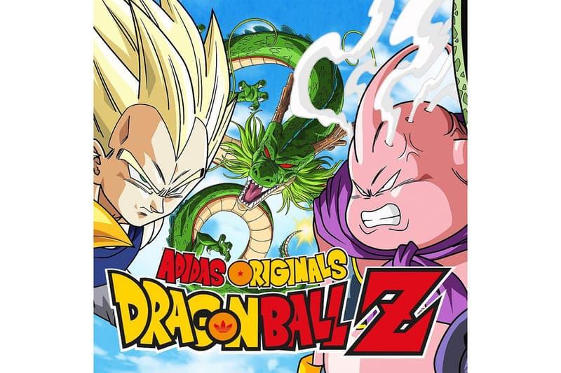 Dragon Ball Z x adidas Originals Official Poster