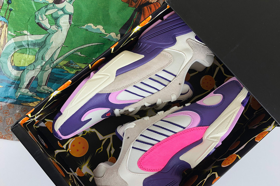 newest f2a52 3cdd4 The Dragon Ball Z x adidas Yung-1