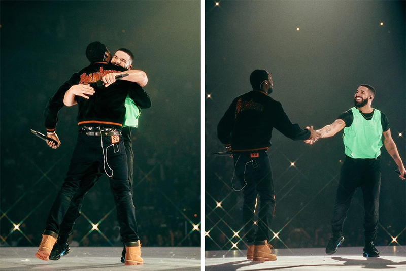 Drake Ending Meek Mill Beef Thoughts Feud End Performance Live Aubrey and the Three migos