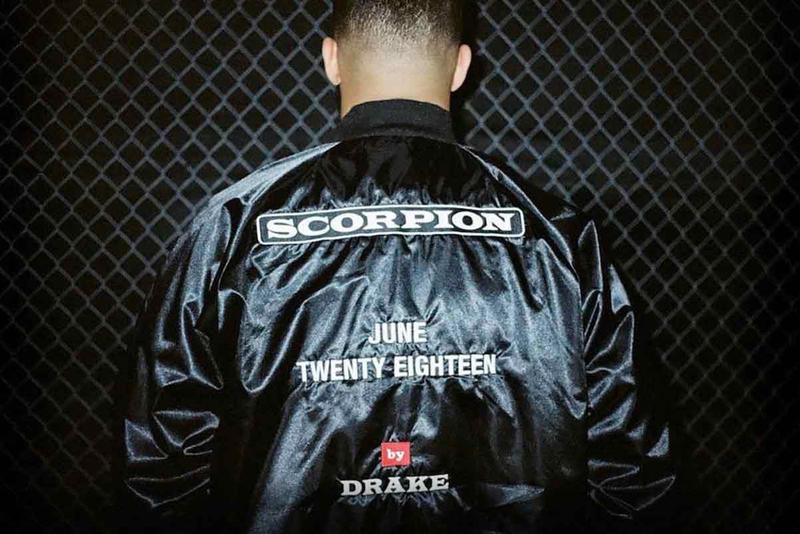 Drake Instagram Page Exclusive Scorpion Merch