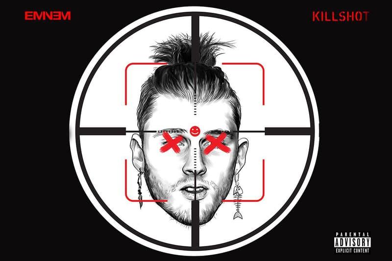 Eminem Machine Gun Kelly Diss KILLSHOT mgk beef 2018 new audiomack stream song track kamikaze rap devil