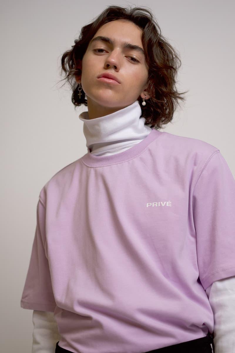 Exo Baekhyun Privé Fearless Capsule Collection Lookbooks Shirt T hoodie Turtleneck polo BBH