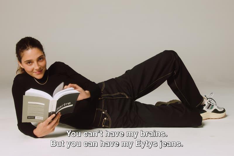 Eytys Buffalo Zine Denim Collection Benz Boyle Cypress Jeans Lookbooks Ready-To-Wear Unisex Tar Petrol Tartan Campaign Imagery Details New SSENSE HBX Matchesfashion London Stockholm