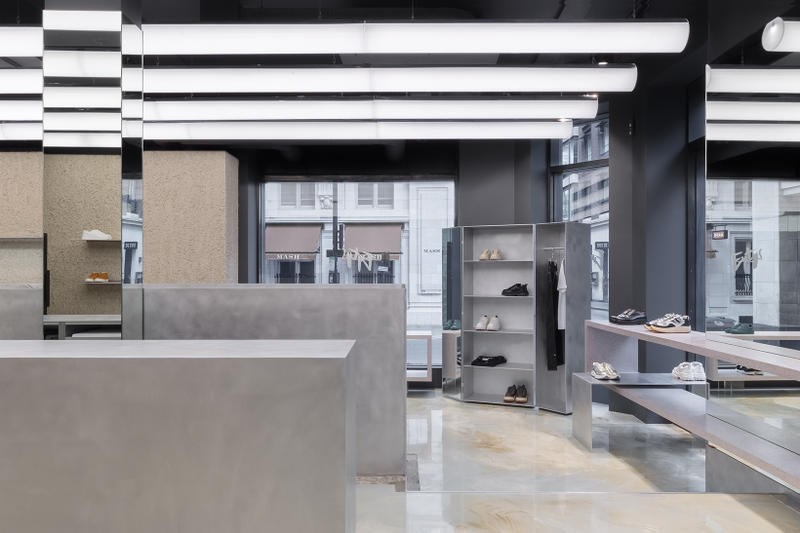 1b4bc78389 Eytys London Soho Flagship Store Look Inside First Look Swedish  Architecture Design Issey Miyake Brutalism Postmodernism