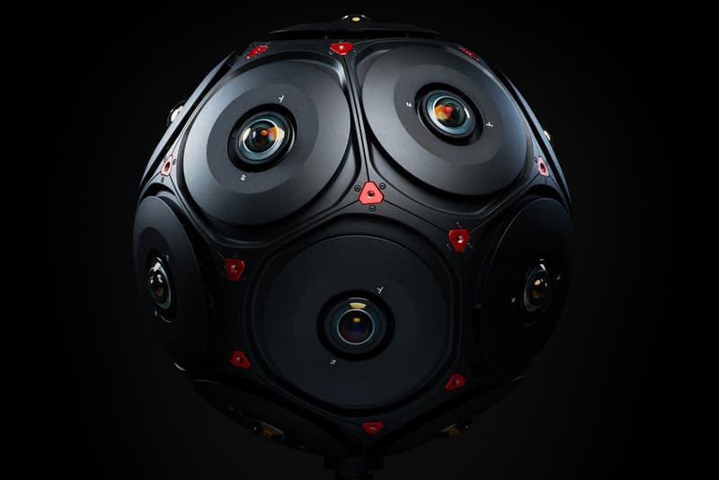 Facebook RED Manifold 3D VR Camera Adobe Foundry OTOY 16 Helium 8K sensors