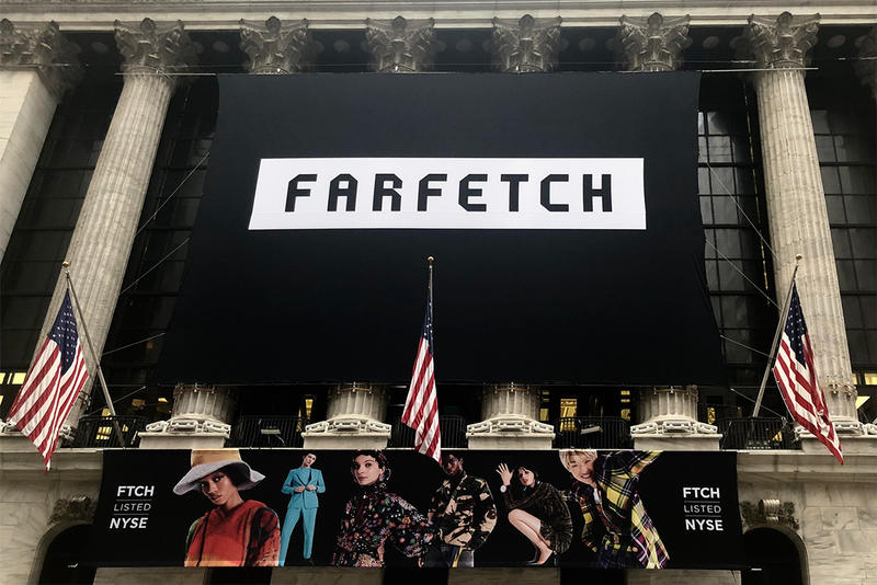 farfetch ipo new york stock exchange debut september 21 2018 price share stock value
