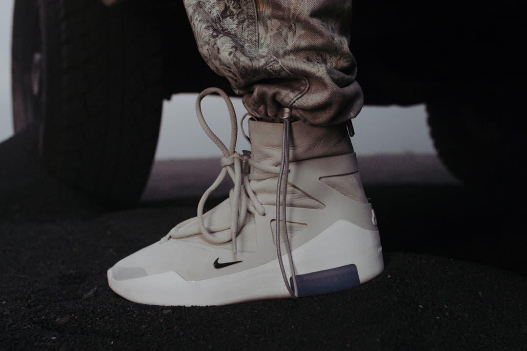 Fear Of God X Nike Collaboration Closer Look Hypebeast
