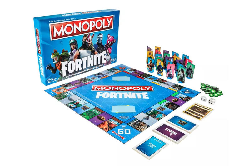 monopoly fortnite game battle royale rules board games epic games