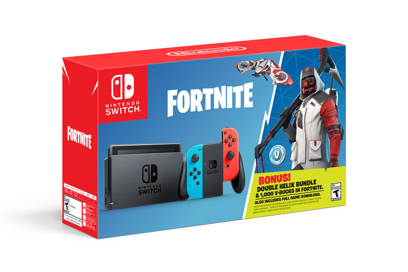 Fortnite Battle Royale Nintendo Switch Bundle Exclusive Skin Epic Games