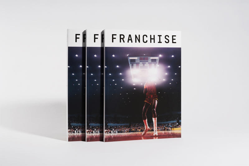 franchise magazine Paul Pfeiffer cover star art will perkins david hammons masaya kruoki maison kitsune yarrow slaps warren lotas a quick dime richard james daniels baskitan kevin couliau barack obama matt mccormick jason cohen damany weir flight club basketball fifth 5 issue premium artist reveal september 2018 release date info buy sell book