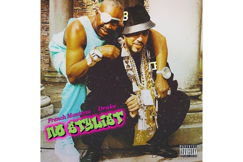French Montana Drake No Stylist Dapper Dan Slick Rick Run DMC kanye West