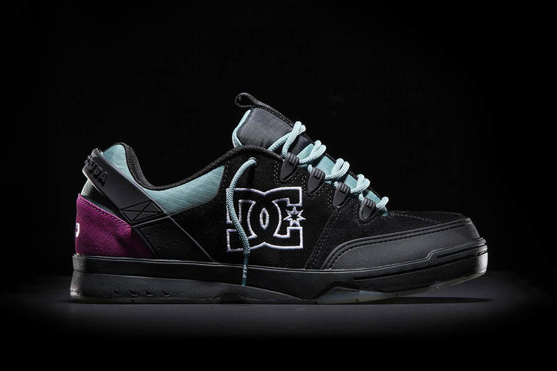 8a832b2ca51 FTP fuck the populartion dc shoes e tribeka syntax sneaker collaboration footwear  shoe skate black white