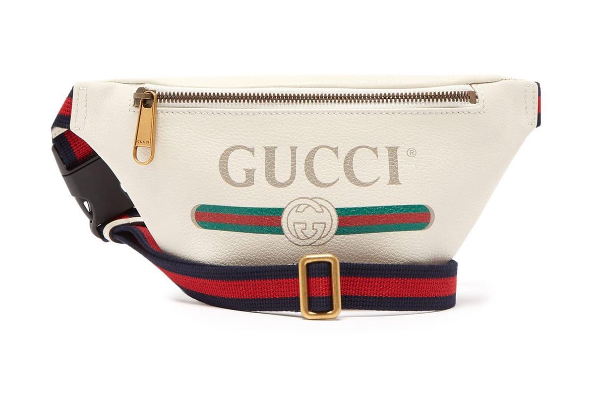 Gucci Drops a Vintage,Style Leather Belt Bag