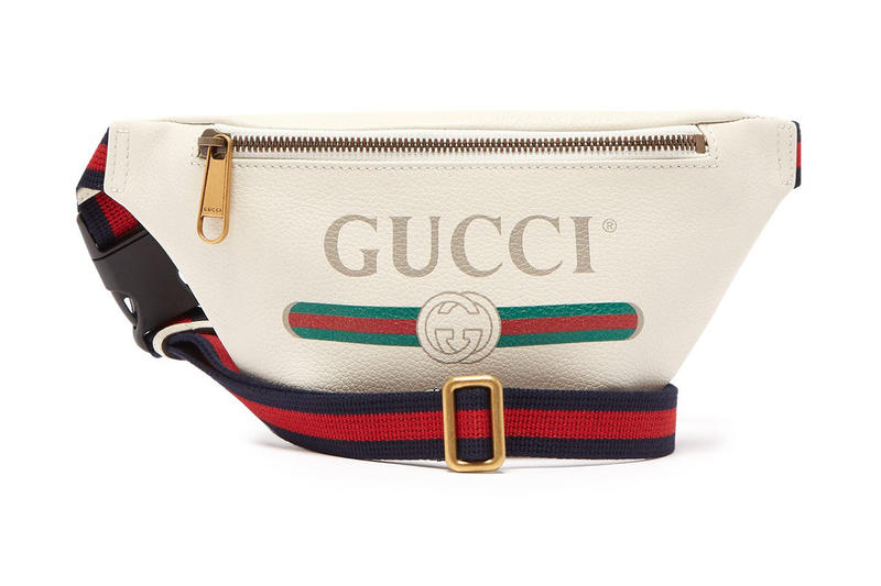 61866c9bd Gucci Belt Bag Off-White Leather navy red green GG logo release info bags  accessories