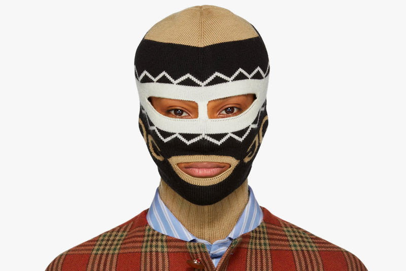 898bc52428015 Gucci Knitted Logo Balaclava Face Mask | HYPEBEAST