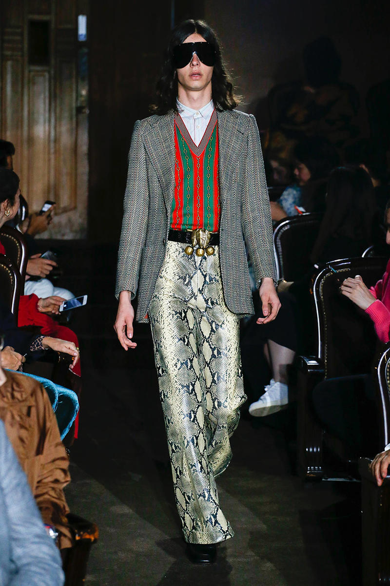 gucci spring summer 2019 runway presentation show paris fashion week alessandro michele menswear womens dolly parton