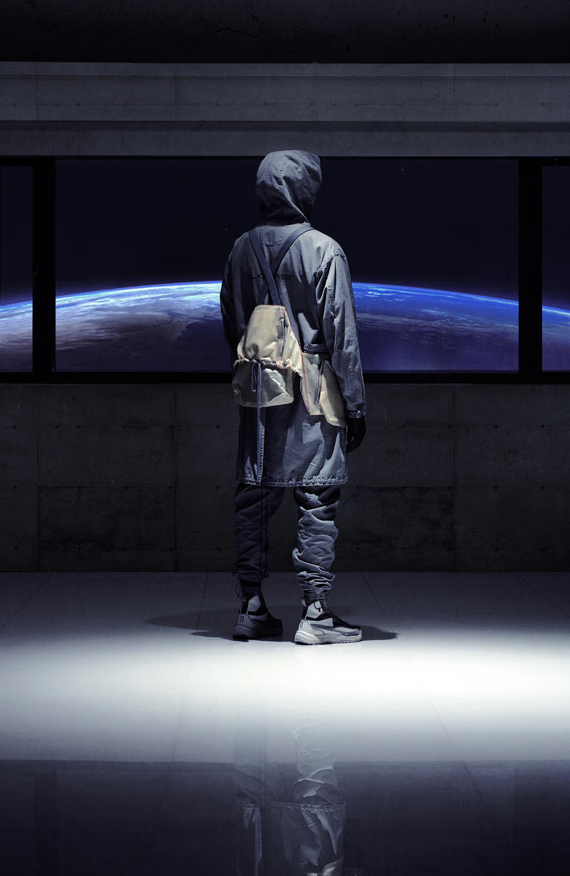 Guerrilla Group TILKHURST Fall Winter 2018 Collection Lookbook Taiwanese Techwear Technical Jacket Holster Vest Pants T shirt Accessoiries