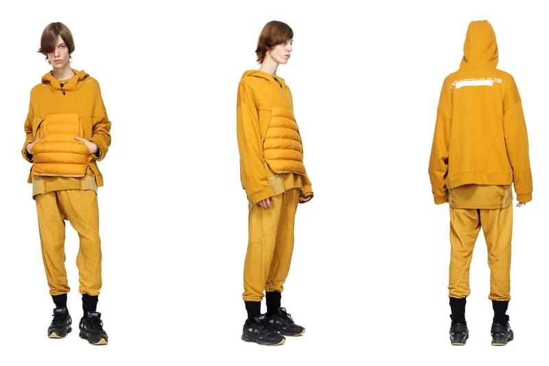 HAMCUS primativism fall winter 2018 collection lookbook china wash dye military techwear experimental handmade