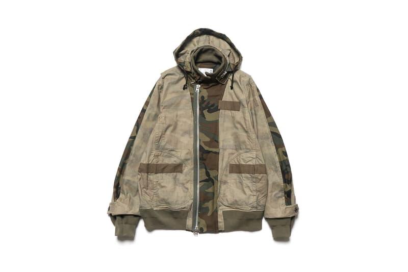 HAVEN Sacai Fall Winter 2018 Collection jackets pants denim plaid shirts Cap