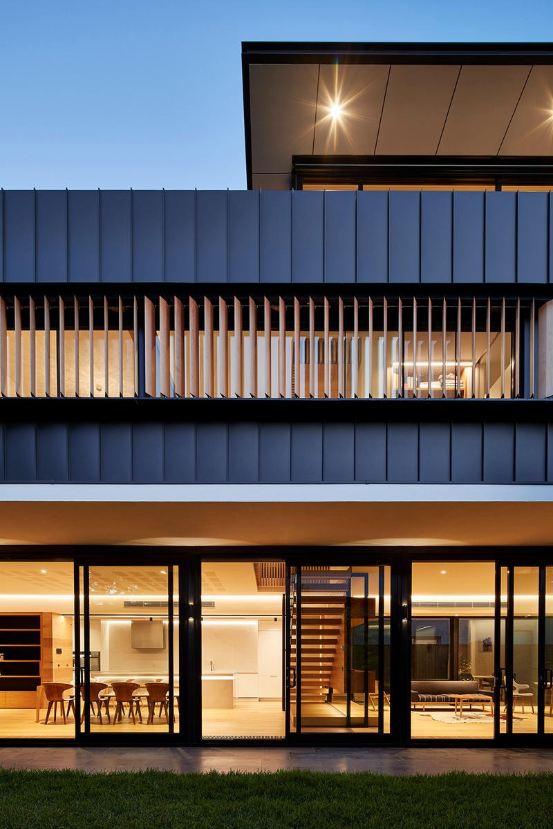 Hawthorn 1 McSteen Tan Architects Hawthorn Australia Homes Houses Architecture Modern Sleek Interior Exterior Design