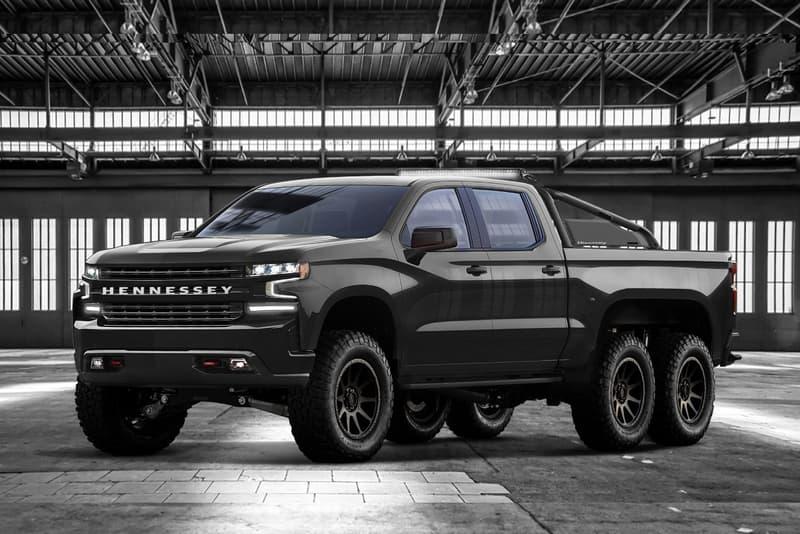 Hennessey 6x6 Chevrolet Silverado Pickup Truck goliath chevy 2019 car
