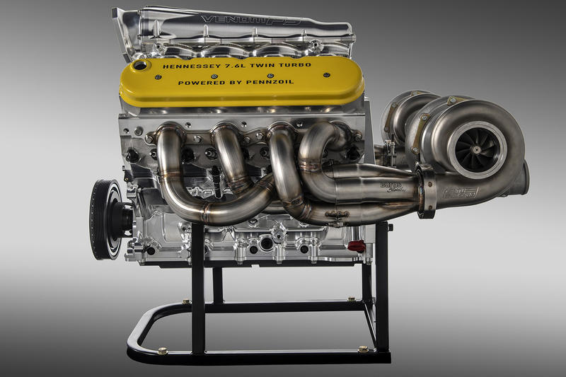 Johm Hennessey Venom F5 GT Engine Break 300mph Monterey Car Week 2,000bhp