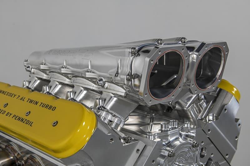 Johm Hennessey Venom F5 GT Engine Break 300mph Monterey Car Week 2,000bhp