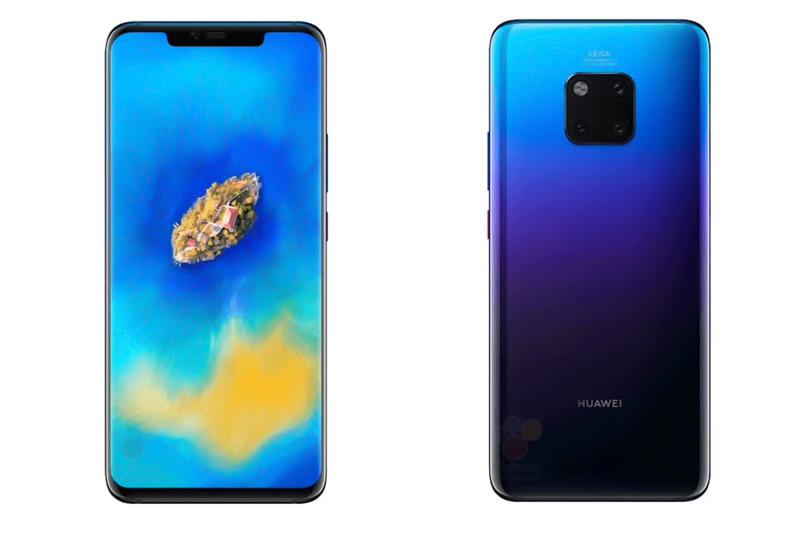 Huawei Mate 20 Pro Leaked First Images Look WinFuture Leica