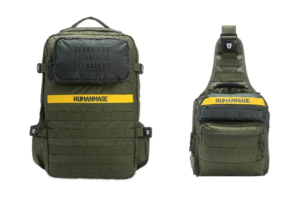 HUMAN MADE Military Backpack & Shoulder Bag | HYPEBEAST