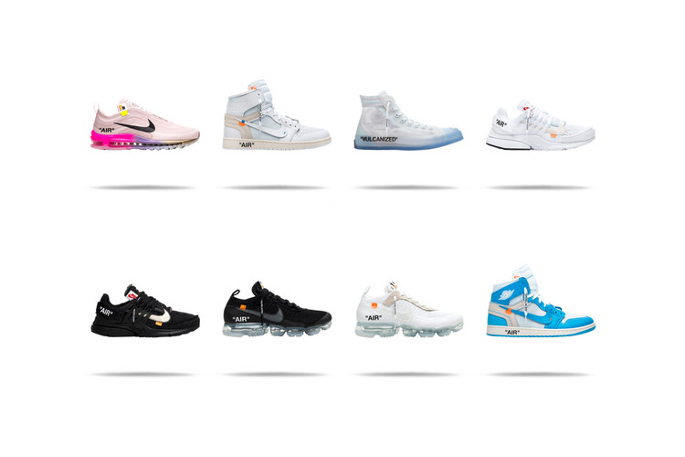 new product ee3f5 21979 UPDATE GOAT Is Giving Away Eight Different Pairs of Off-White™ x Nike