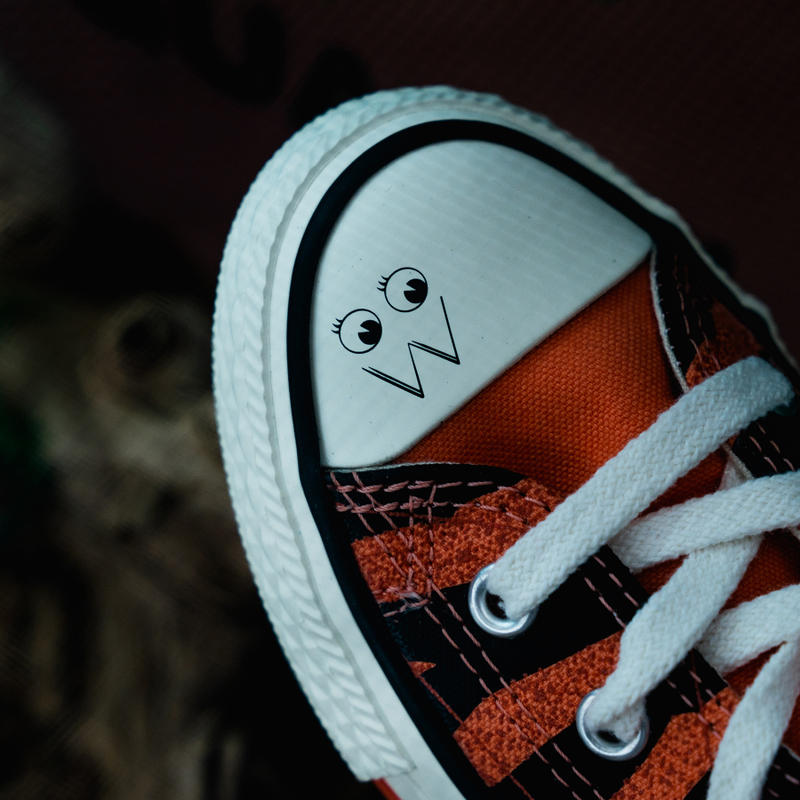 Dr Woo x Converse Chuck Taylor hypekids Giveaway Leopard print blue orange raffle free how to buy