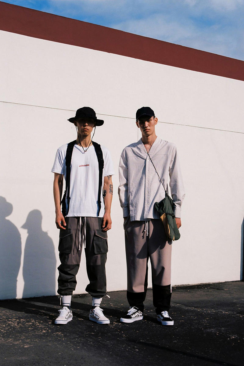 IISE Fall/Winter 2018 Lookbook Eras Korean Military Wear Inspired Inspiration Fashion Clothing Lookbooks Collections