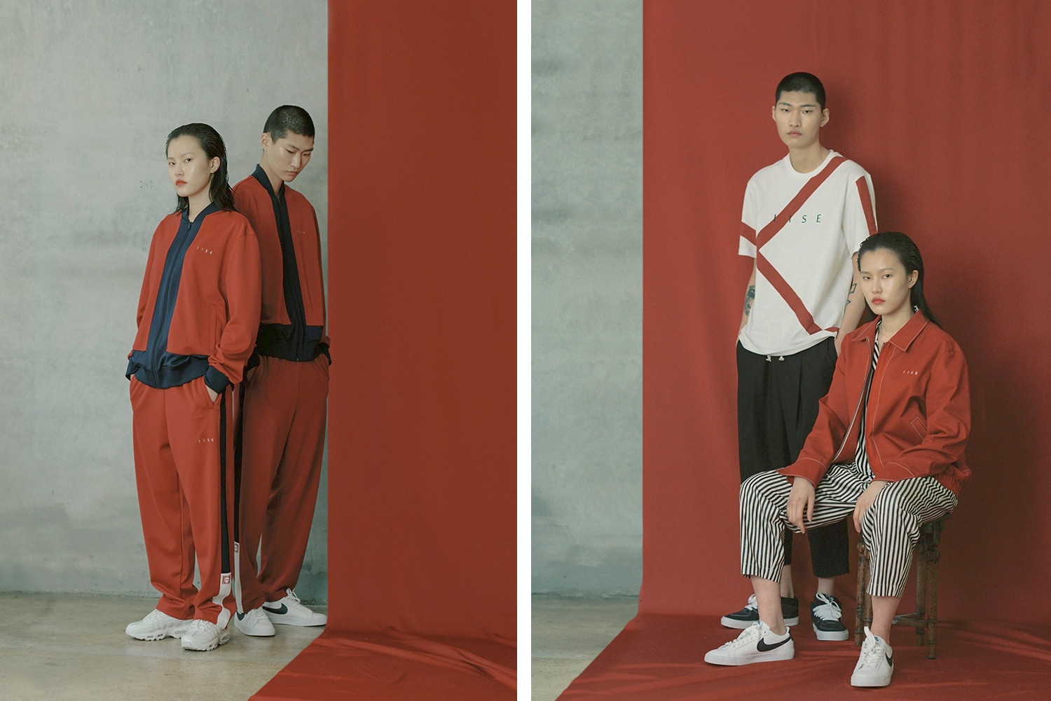 IISE Debuts First SS '19 Collection at NYFW  Spring Summer korea concept korea fashion clothing traditional contemporary