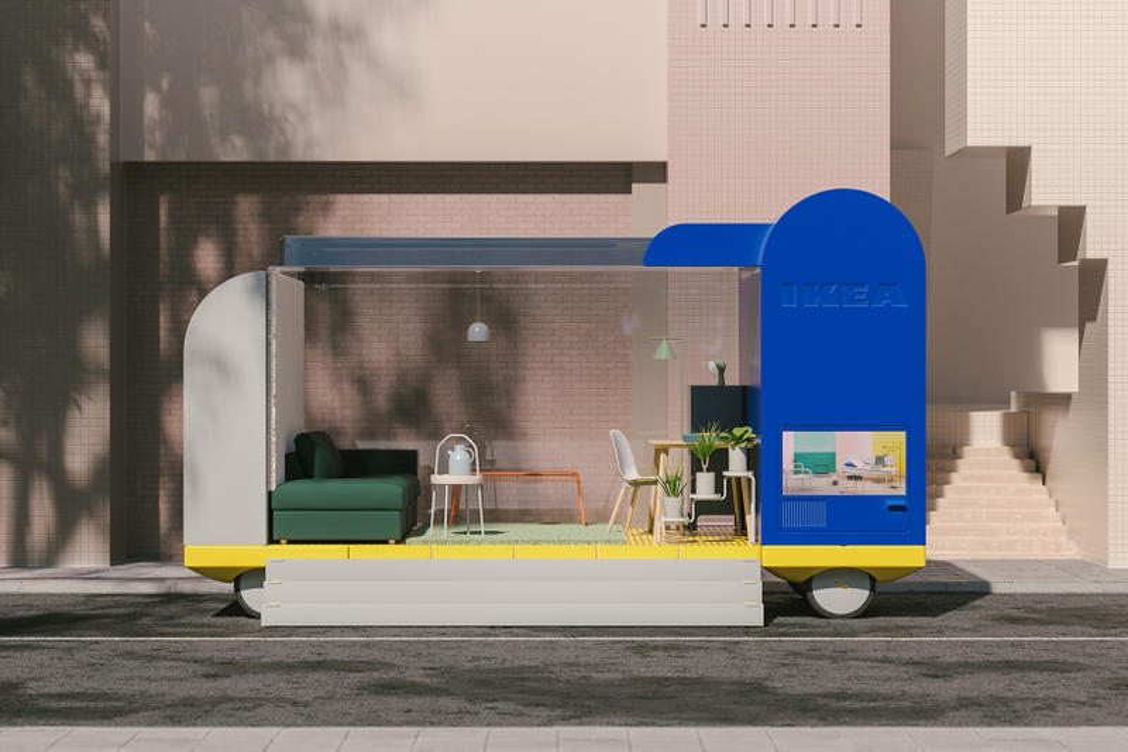 IKEA's Future Living Lab Reveals Self-Driving Car Project