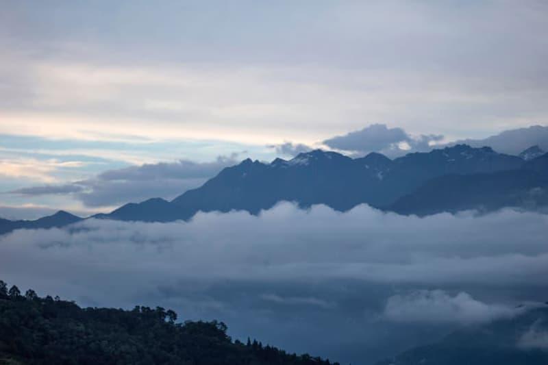 india pakyong airport himalayan mountains