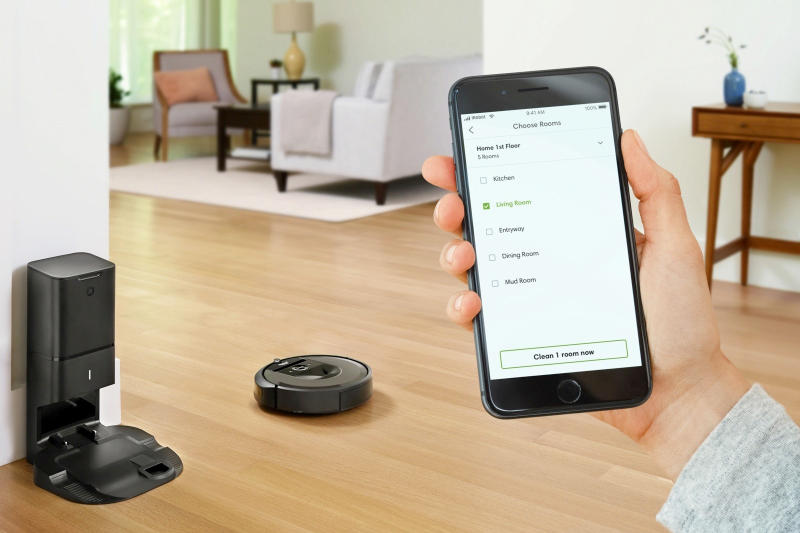 iRobot Roomba i7+ Availability For Sale Launch Date Release Information Self-Cleaning Smartphone App Smart Device Blockchain