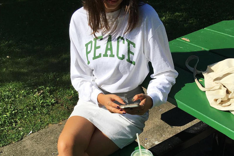JJJJound Releases Peace University Tees